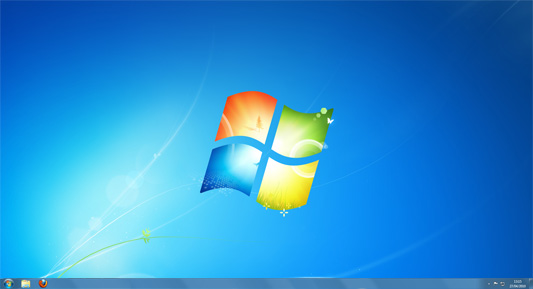 Le bureau de windows 7 for Bureau windows 7